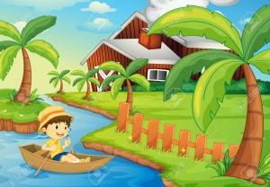 flotar en el rio de la vida