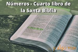 Números - Cuarto libro de la Santa Biblia
