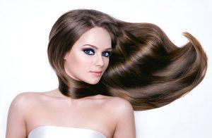 baño de oro para un cabello hermoso