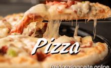 Receta Pizza Casera en la Freidora sin Aceite