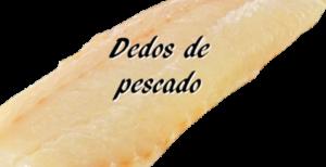 Ingredientes para los dedos de pescado