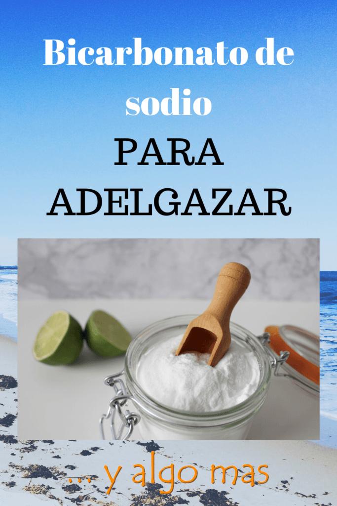 Bicarbonato de sodio para adelgazar